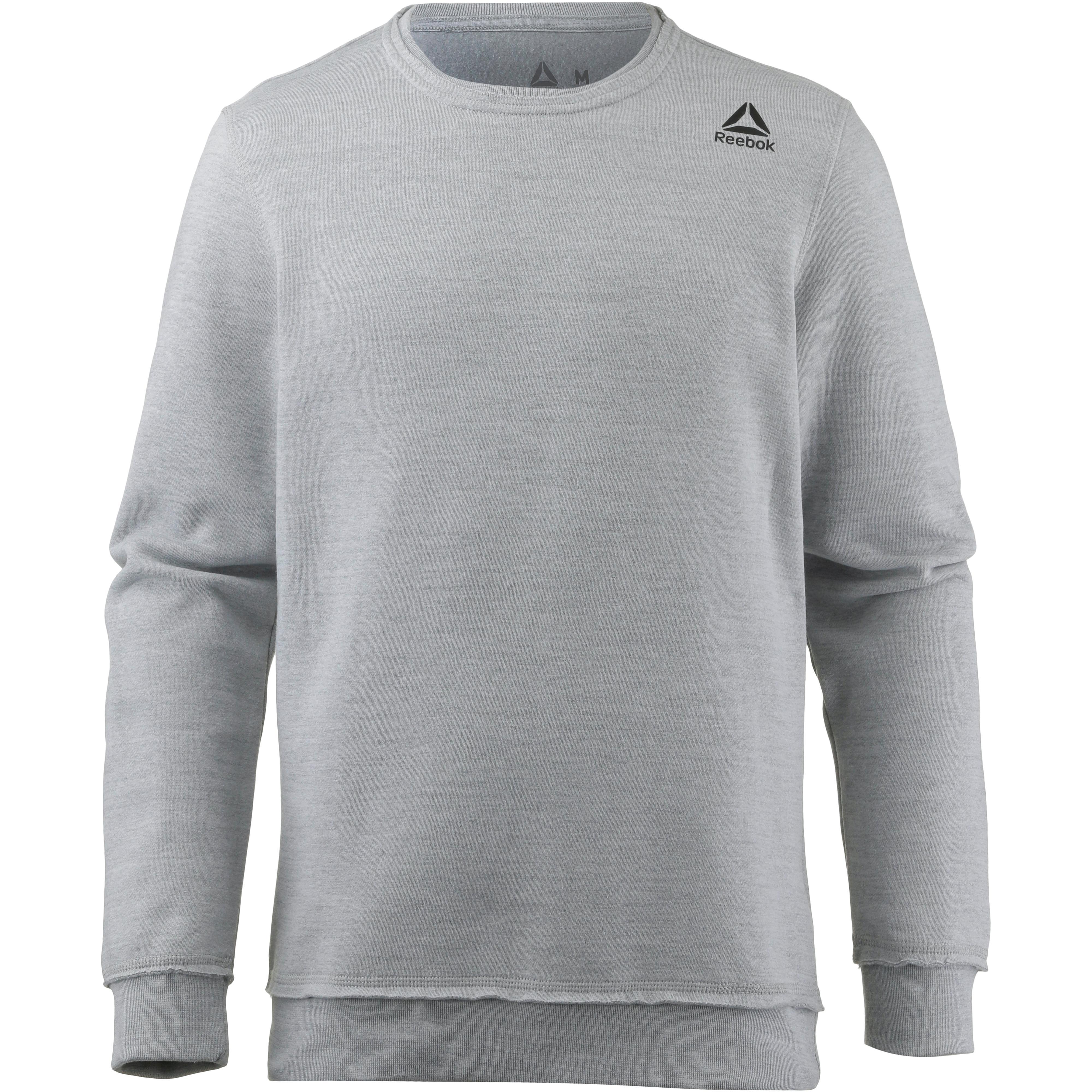 pullover \u0026 sweats von reebok im online shop von sportscheck kaufen  reebok el marble group sweatshirt herren skull grey