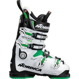 Nordica SPORTMACHINE 120 Skischuhe Herren BLACK/WHITE/GREEN