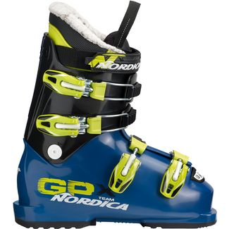 Nordica GPX TEAM Skischuhe Kinder BLUE/LIME