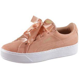 PUMA Sneaker Kinder dusty coral-puma team gold