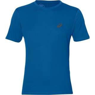 ASICS Silver Laufshirt Herren race-blue