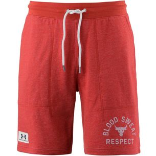 Under Armour Project Rock Respect Shorts Herren radiant-red-ivory