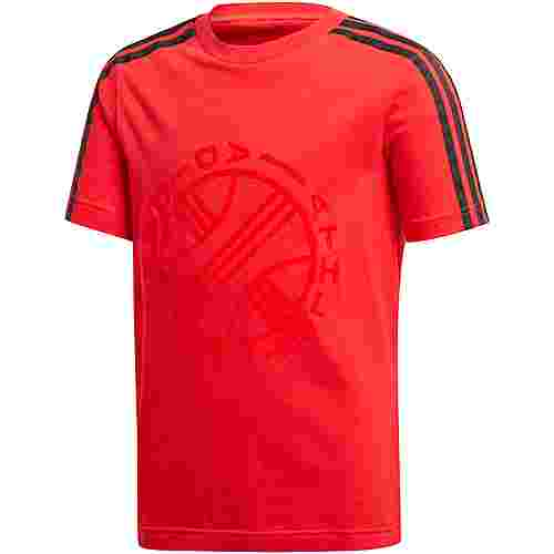 adidas T-Shirt Kinder vivid red