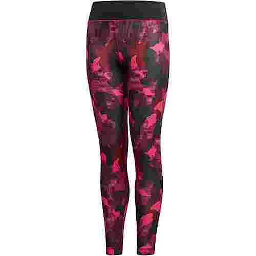 adidas Tights Kinder noble maroon
