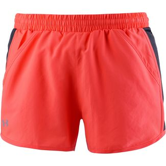 Under Armour Fly By Laufshorts Damen after burn-charcoal-reflective