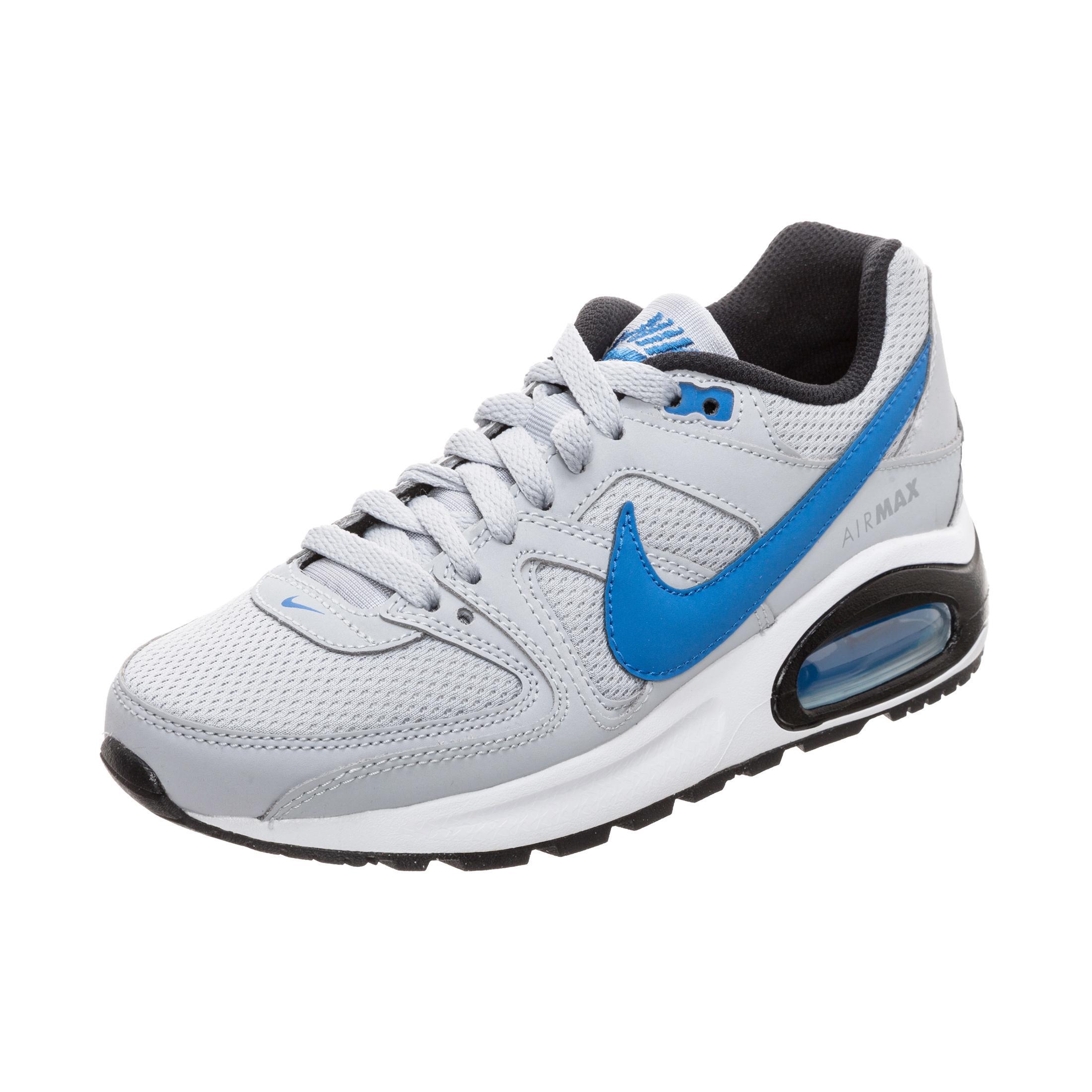 new products 12131 ee444 Nike Air Max Command Flex Sneaker Kinder grau / blau im Online Shop von  SportScheck kaufen