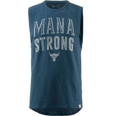 Under Armour Heatgear Project Rock Mana Strong Funktionstank Herren true-ink-ivory