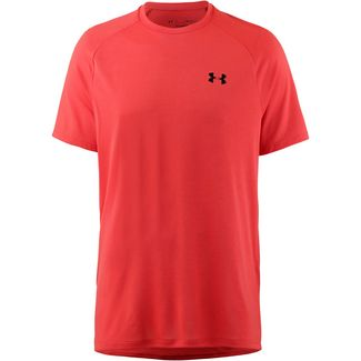 Under Armour Tech Funktionsshirt Herren radio-red-black