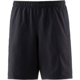 Under Armour Heatgear Woven Graphic Wordmark Funktionsshorts Herren black-zinc-gray