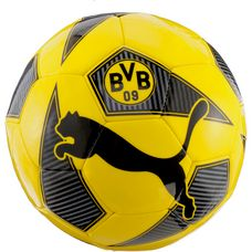 PUMA Borussia Dortmund Fußball cyber yellow-puma black