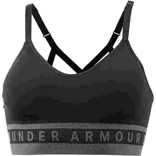 Under Armour Seamless Longline Sport-BH Damen black