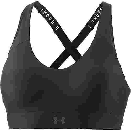 Under Armour Vanish Sport-BH Damen black-black-metallic beige