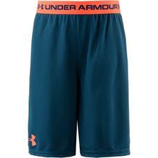 Under Armour Shorts Kinder techno teal-magma orange