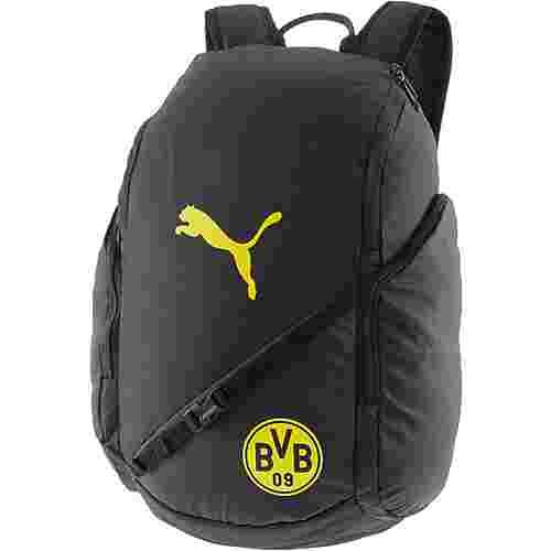 PUMA Rucksack Borussia Dortmund Daypack puma black-cyber yellow