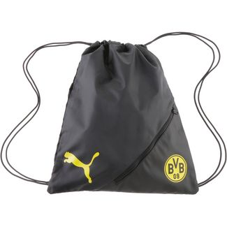 PUMA Borussia Dortmund Turnbeutel puma black-cyber yellow