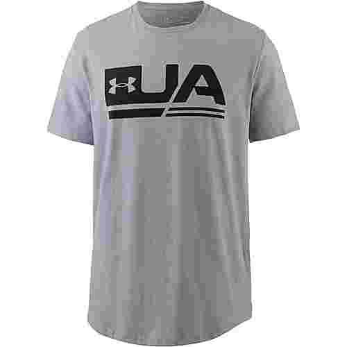 Under Armour T-Shirt Herren steel