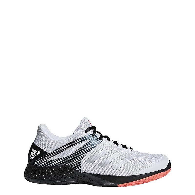 super popular bc45f 83de5 adidas Adizero Club 2.0 Tennisschuhe Herren Ftwr White  Matte Silver   Core Black
