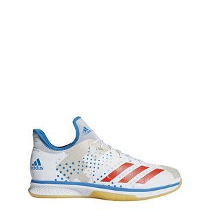 adidas Counterblast Bounce Hallenschuhe Herren Ftwr White / Solar Red / Bright Blue