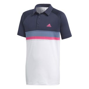 adidas Colorblock Club Tennis Polo Kinder Legend Ink