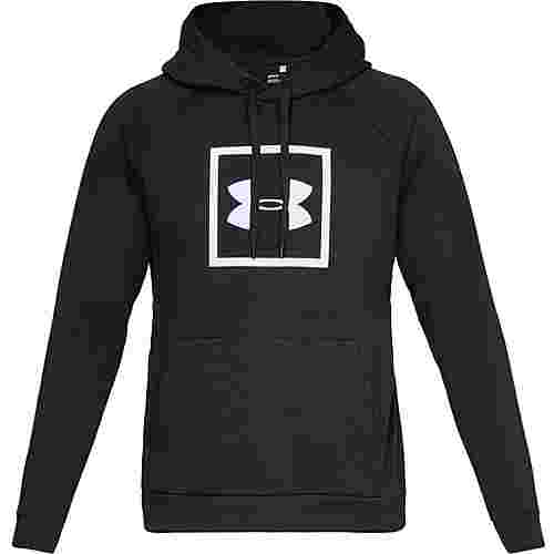 Under Armour Rival Fleece Logo Hoodie Herren black-white