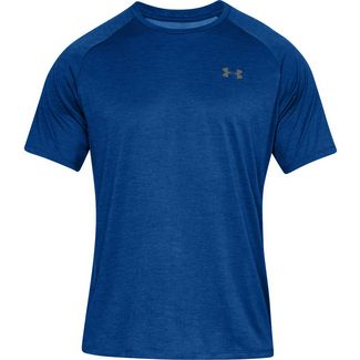 Under Armour Tech Funktionsshirt Herren royal-graphite