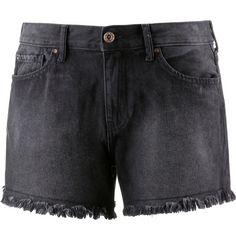 Only Jeansshorts Damen black