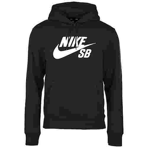 Nike Icon Hoodie Herren schwarz / weiß