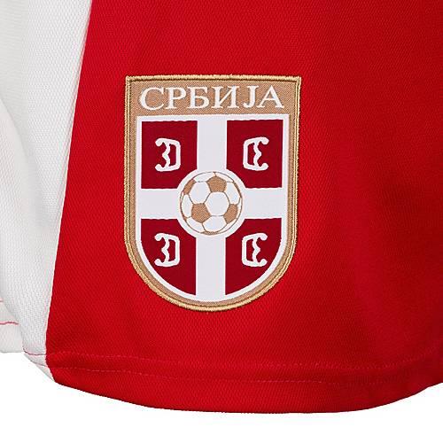 PUMA Serbien WM 2018 Heim Fußballshorts Herren rot weiß im