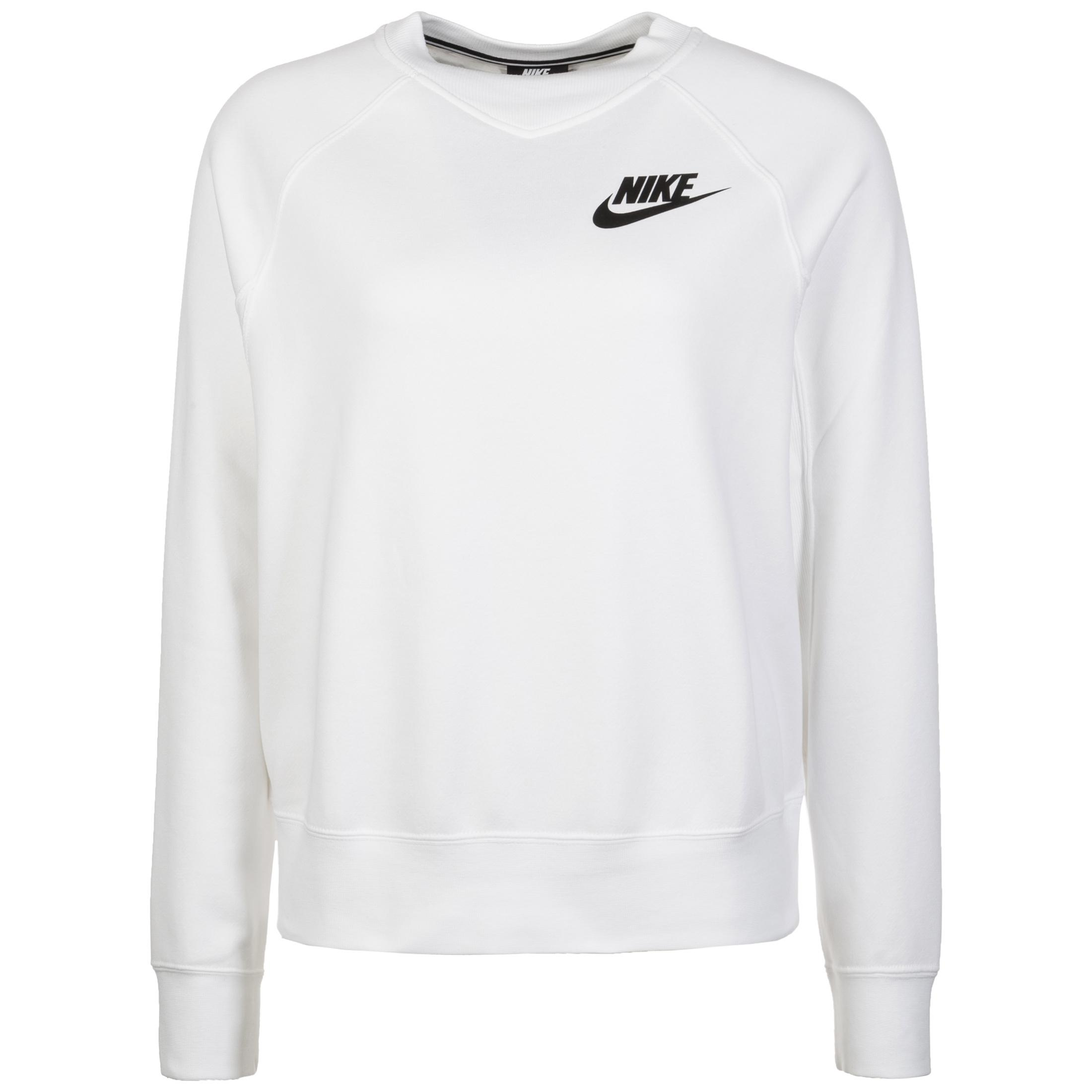 fast delivery new authentic designer fashion Nike Rally Crew Sweatshirt Damen weiß im Online Shop von SportScheck kaufen