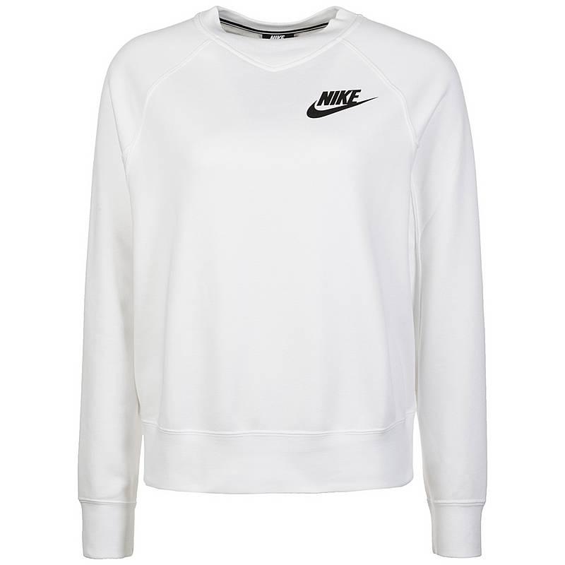 Nike Rally Crew Sweatshirt Damen Weiß Im Online Shop Von Sportscheck Kaufen