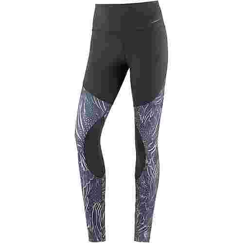 Nike Power Gym Flutter Print Tights Damen black-atmosphere grey-black