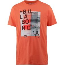 Billabong Salty SS T-Shirt Herren coral