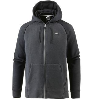 Nike NSW Optic Sweatjacke Herren black-htr-black