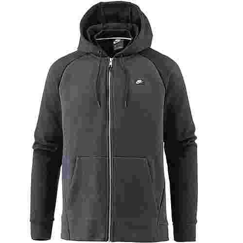 Nike NSW Optic Sweatjacke Herren black-htr-black