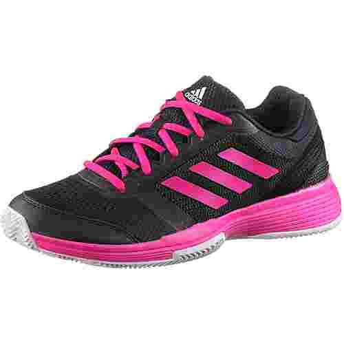 adidas Barricade club w cl Tennisschuhe Damen legend ink-shock pink-white