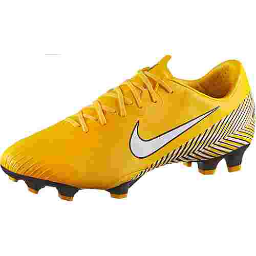 Nike MERCURIAL VAPOR 12 PRO NJR FG Fußballschuhe amarillo-white-black-black