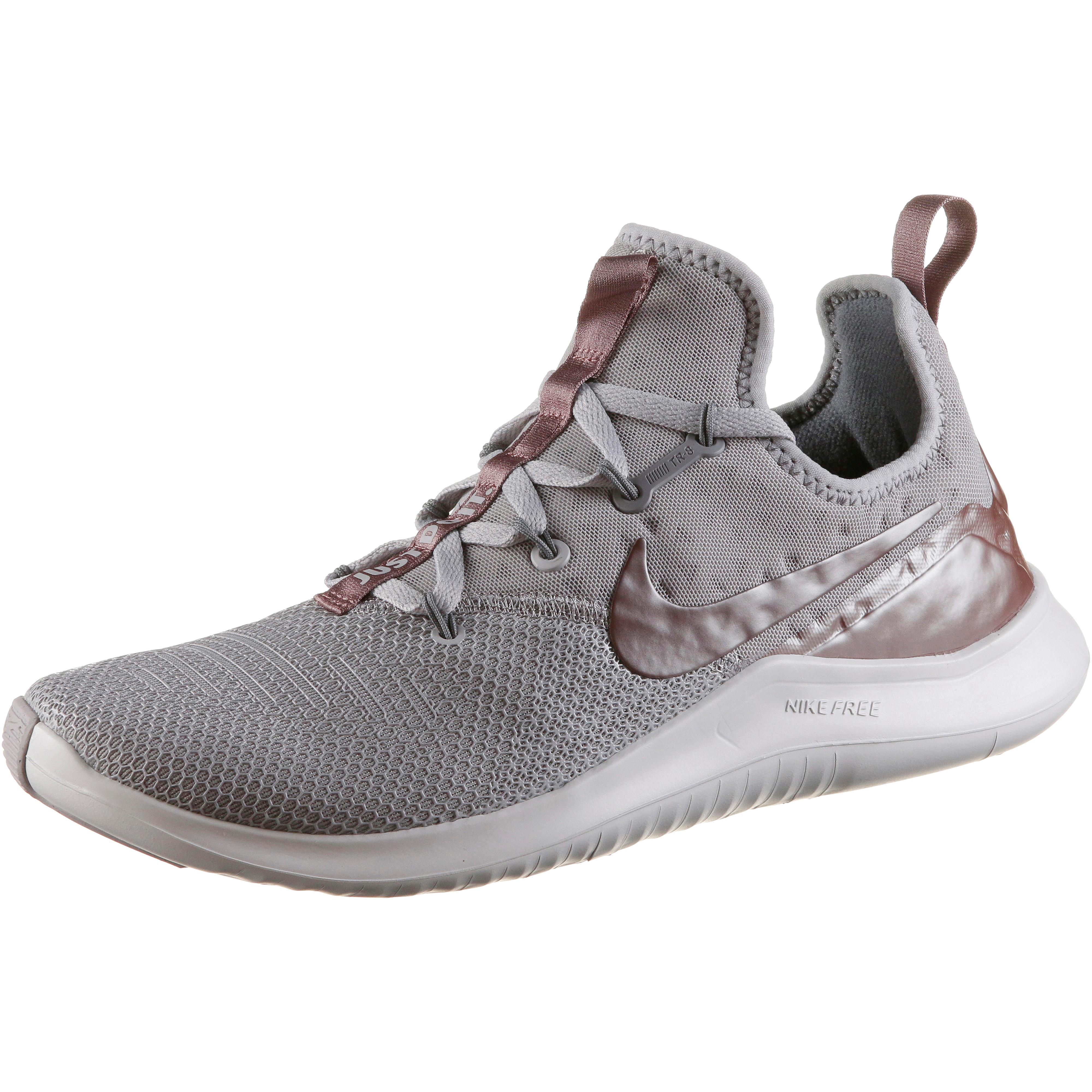 quality design 05c80 17012 Nike Free TR 8 Fitnessschuhe Damen atmosphere grey-smokey mauve-vast  grey-gunsmoke im Online Shop von SportScheck kaufen