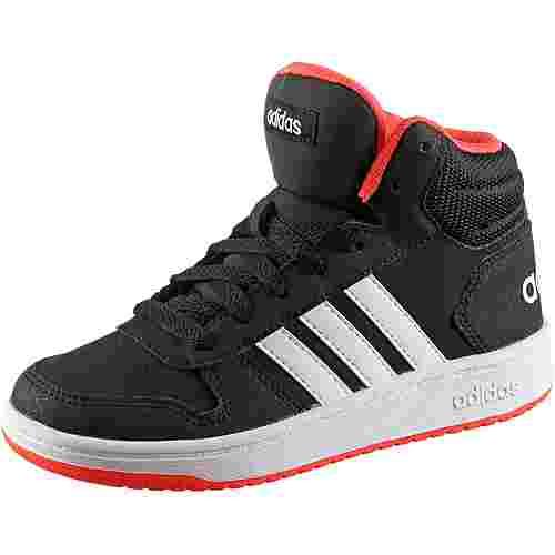 adidas Hoops Mid 2.0 Sneaker Kinder core black