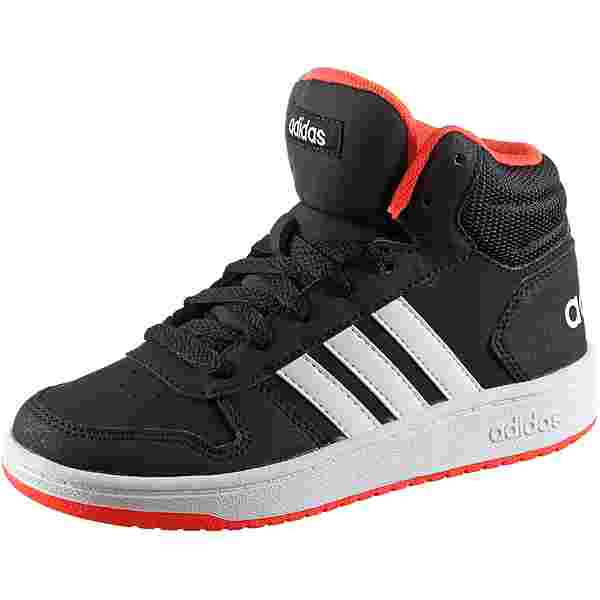 adidas Hoops Mid 2.0 Sneaker Kinder core black