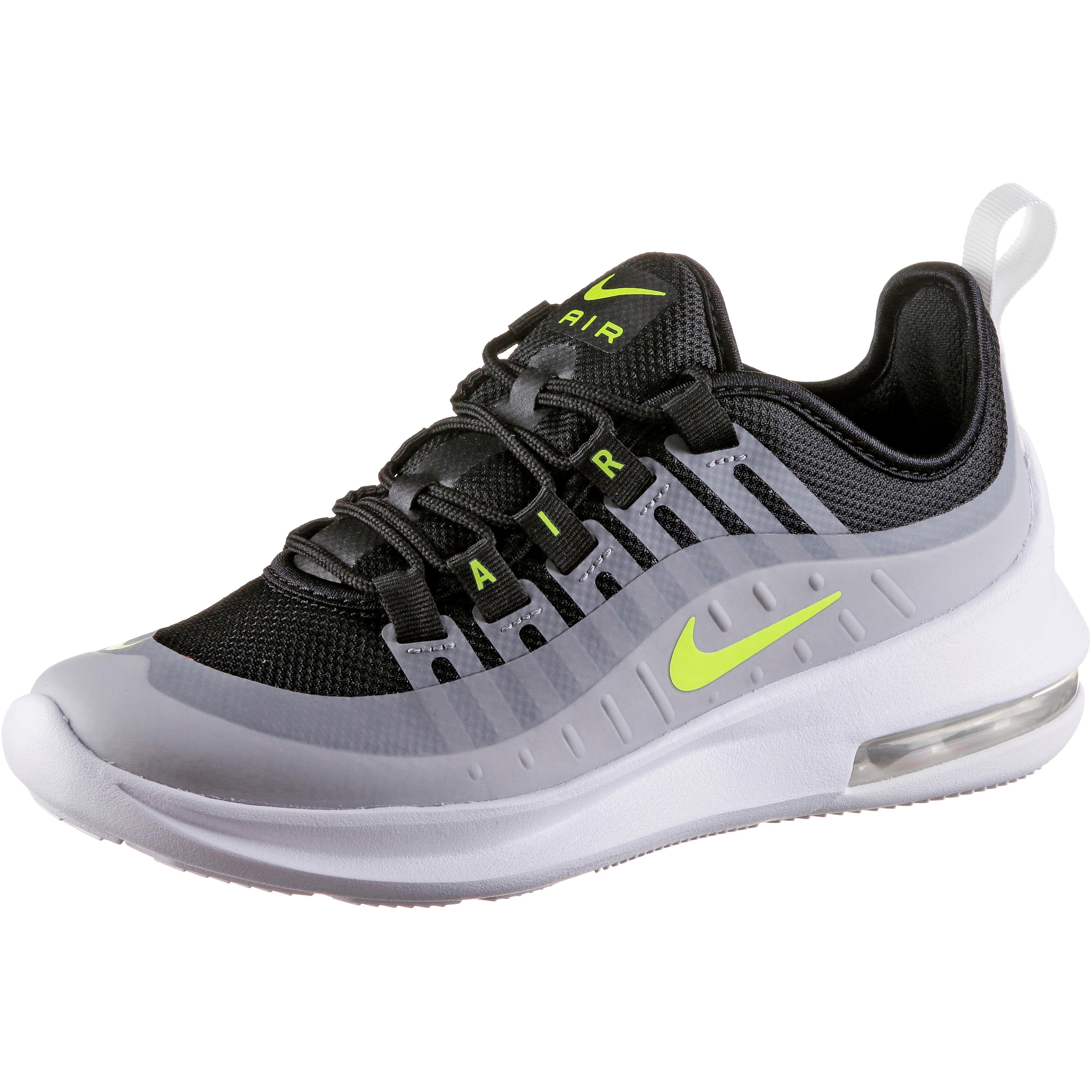 check out 08eda e5f14 Nike AIR MAX AXIS Sneaker Kinder black-volt-wolf grey-anthracit im Online  Shop von SportScheck kaufen
