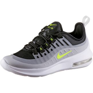 Nike AIR MAX AXIS Sneaker Kinder black-volt-wolf grey-anthracit