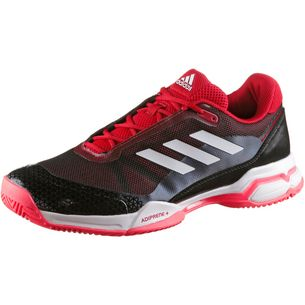 cheaper 1285b 10ec9 adidas barricade club Tennisschuhe Herren scarlet-white-core black