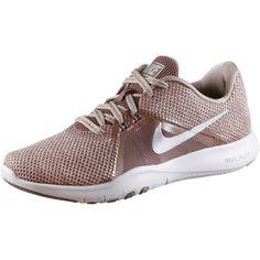 Nike Flex Trainer 8 Fitnessschuhe Damen smokey mauve-diffused taupe-gunsmoke-vast grey