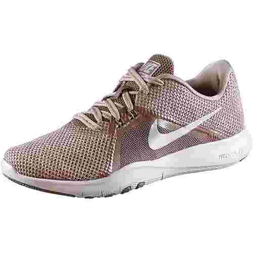 Nike Flex Trainer 8 Fitnessschuhe Damen smokey mauve-diffused  taupe-gunsmoke-vast grey im Online Shop von SportScheck kaufen
