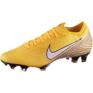 Nike MERCURIAL VAPOR 12 ELITE NJR FG Fußballschuhe amarillo-white-dynamic yellow-black-black