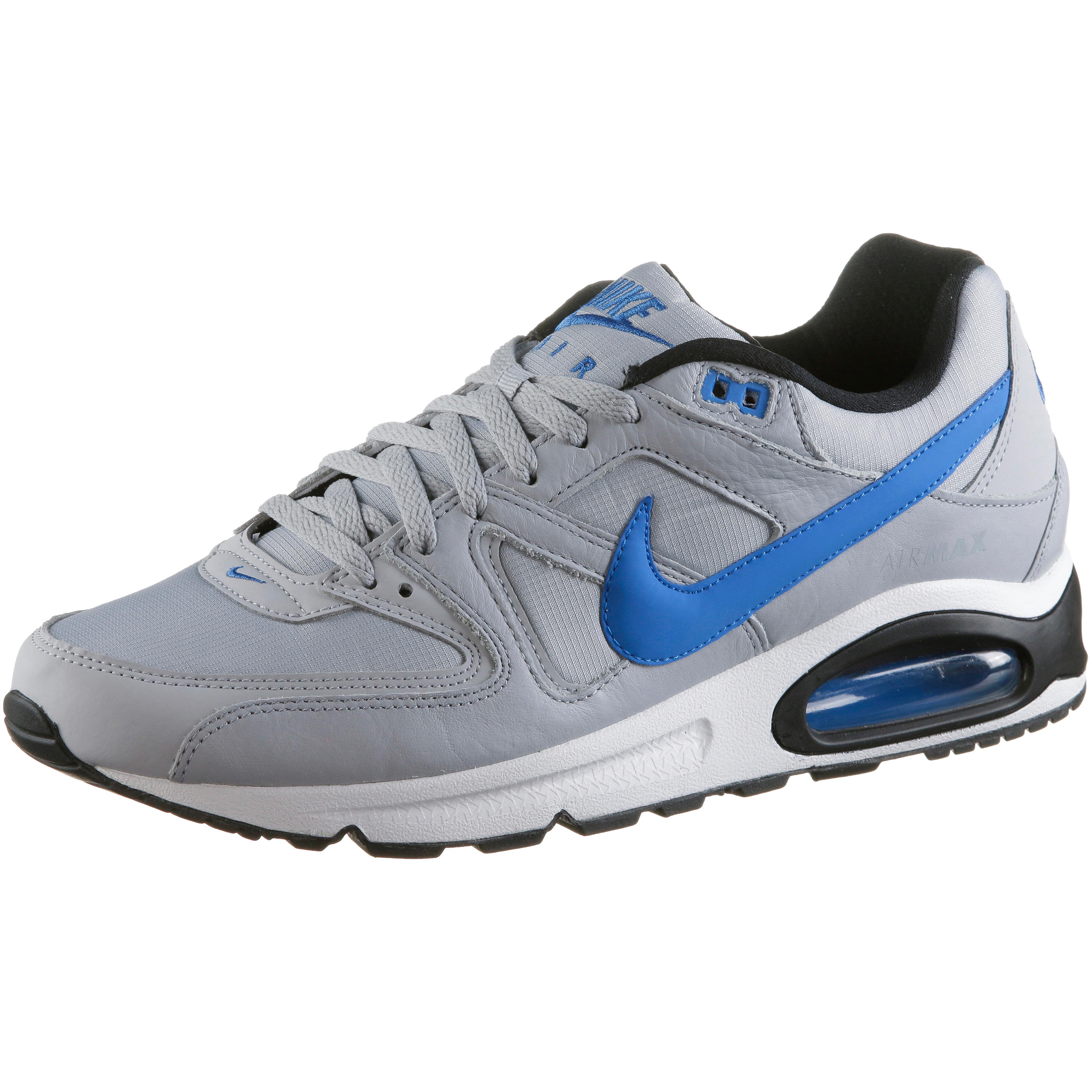 9de19bc2abb25 Nike AIR MAX COMMAND Sneaker Herren wolf grey-signal blue-black-white im  Online Shop von SportScheck kaufen