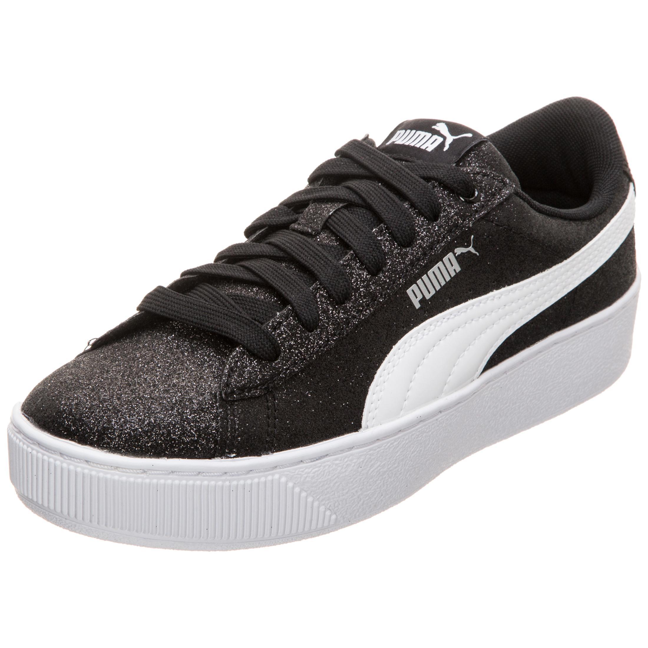 44d15e4f676 PUMA Vikky Platform Glitz Sneaker Mädchen schwarz   silber im Online Shop  von SportScheck kaufen