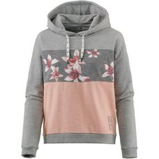 Roxy Hoodie Damen CHARCOAL HEATHER FLOWER FIELD