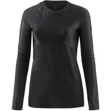 Nike Pro Hypercool Glamour Funktionsshirt Damen black-black-anthracite