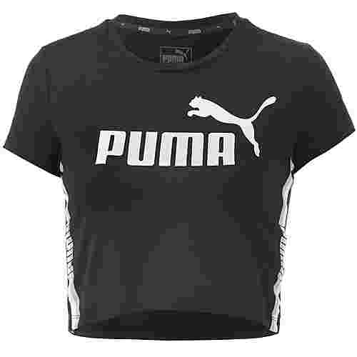 PUMA Croptop Damen cotton-black